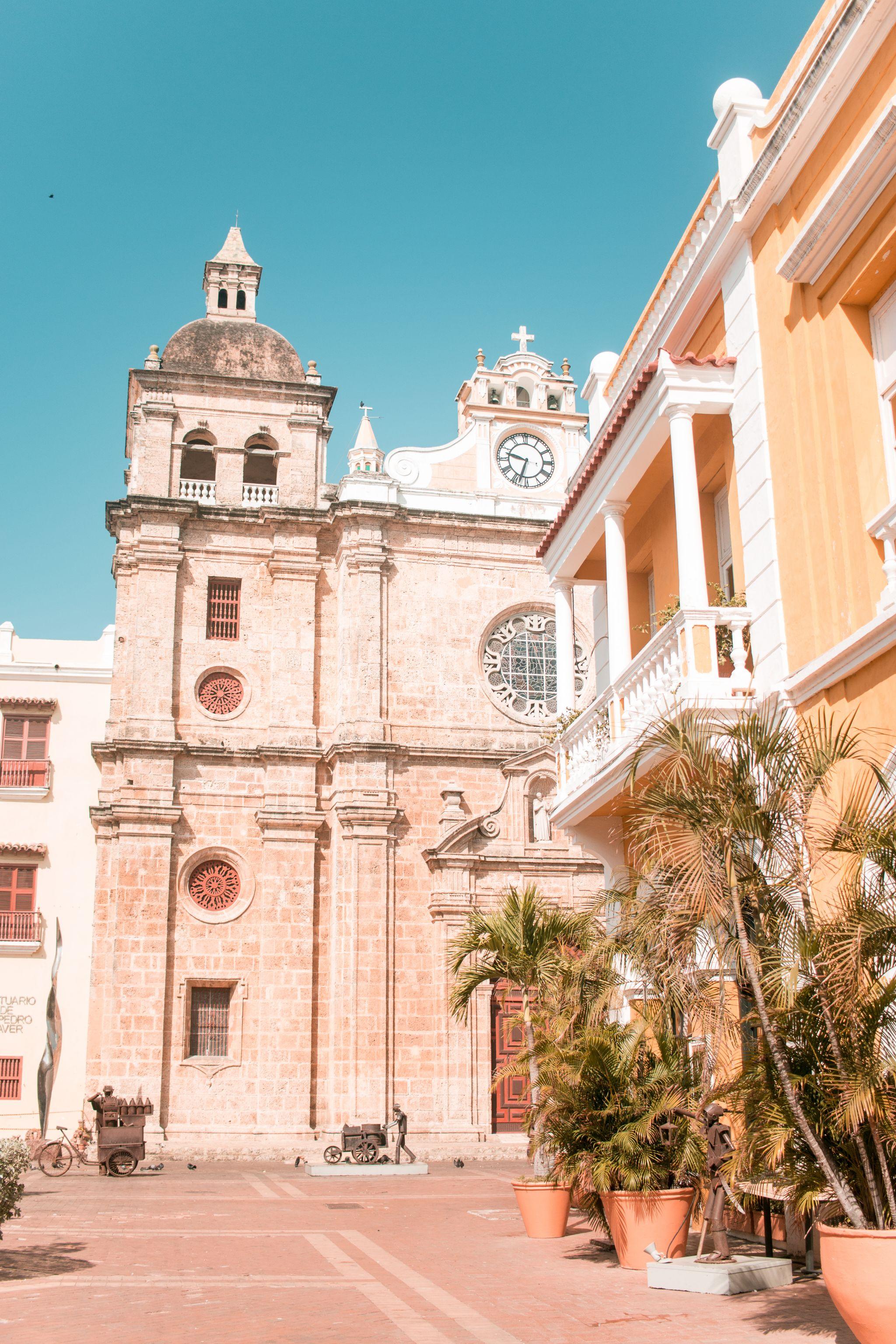 Cartagena Travel Guide Colombia Iglesia de San Pedro Claver architecture