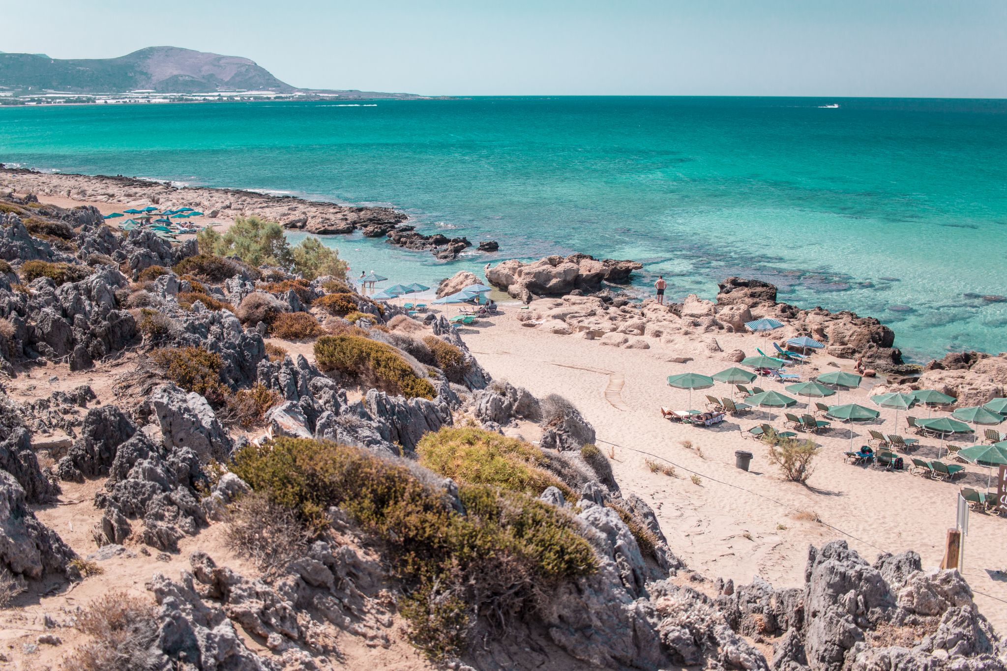 Crete Travel Guide Phalasarna Beach