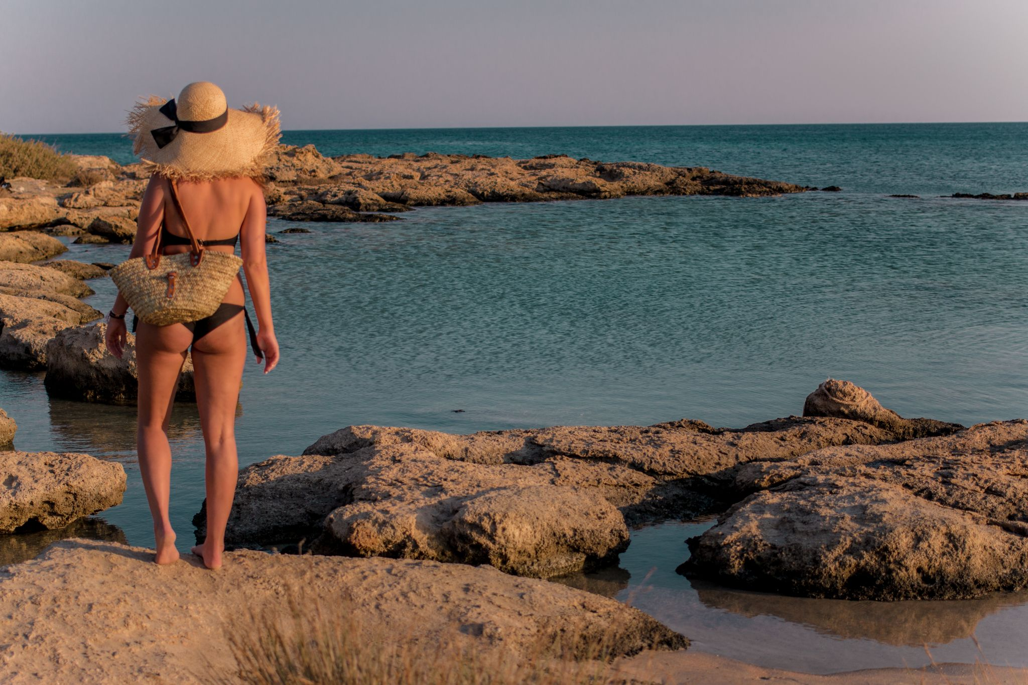 Crete Travel Guide Golden Hour at Elafonisi Beach