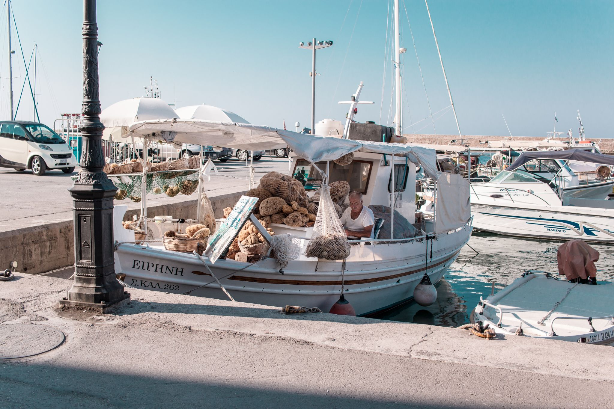 Crete Travel Guide Chania Port