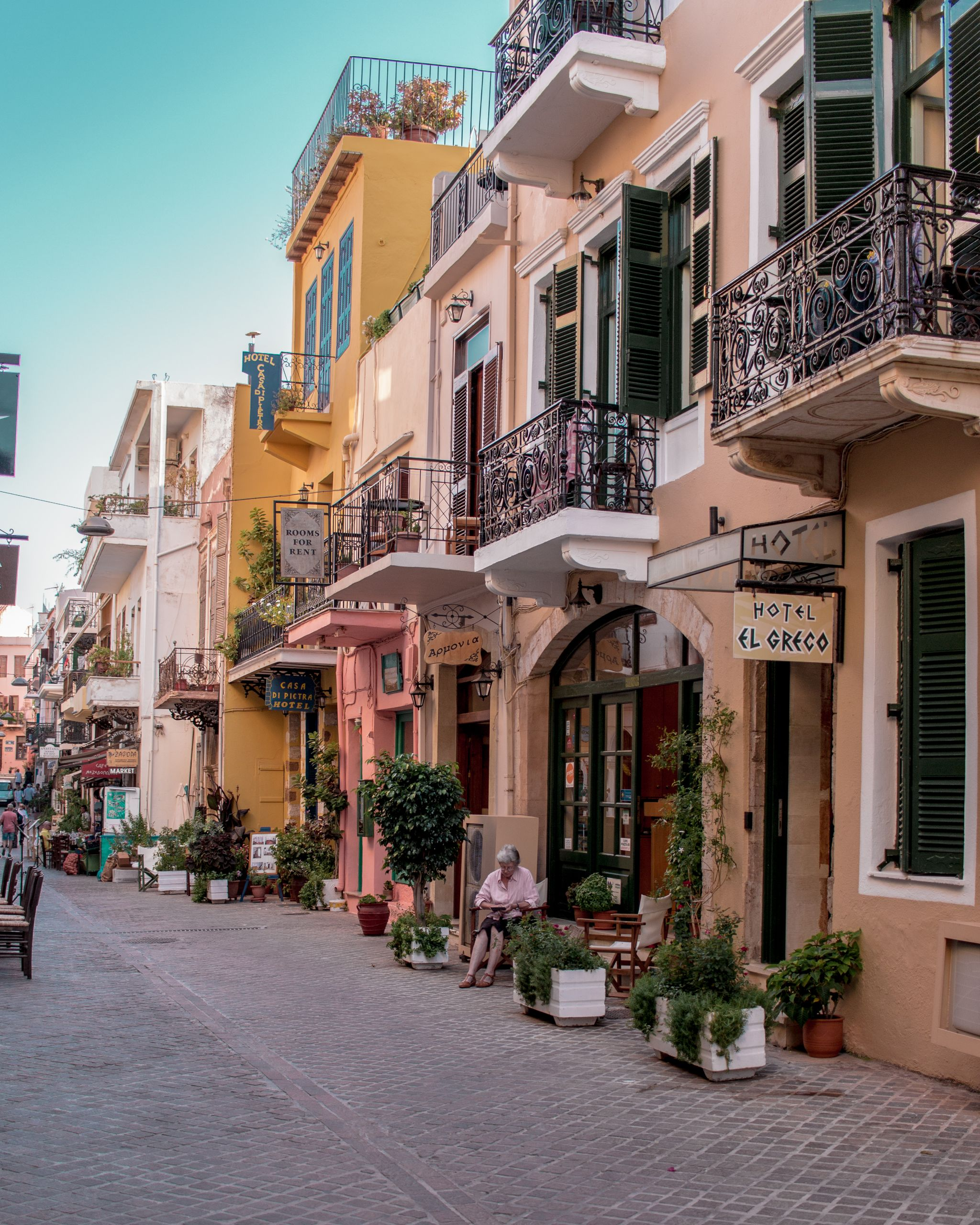 Crete Travel Guide Chania town