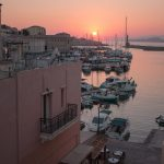 Crete Travel Guide Chania Harbour Sunset