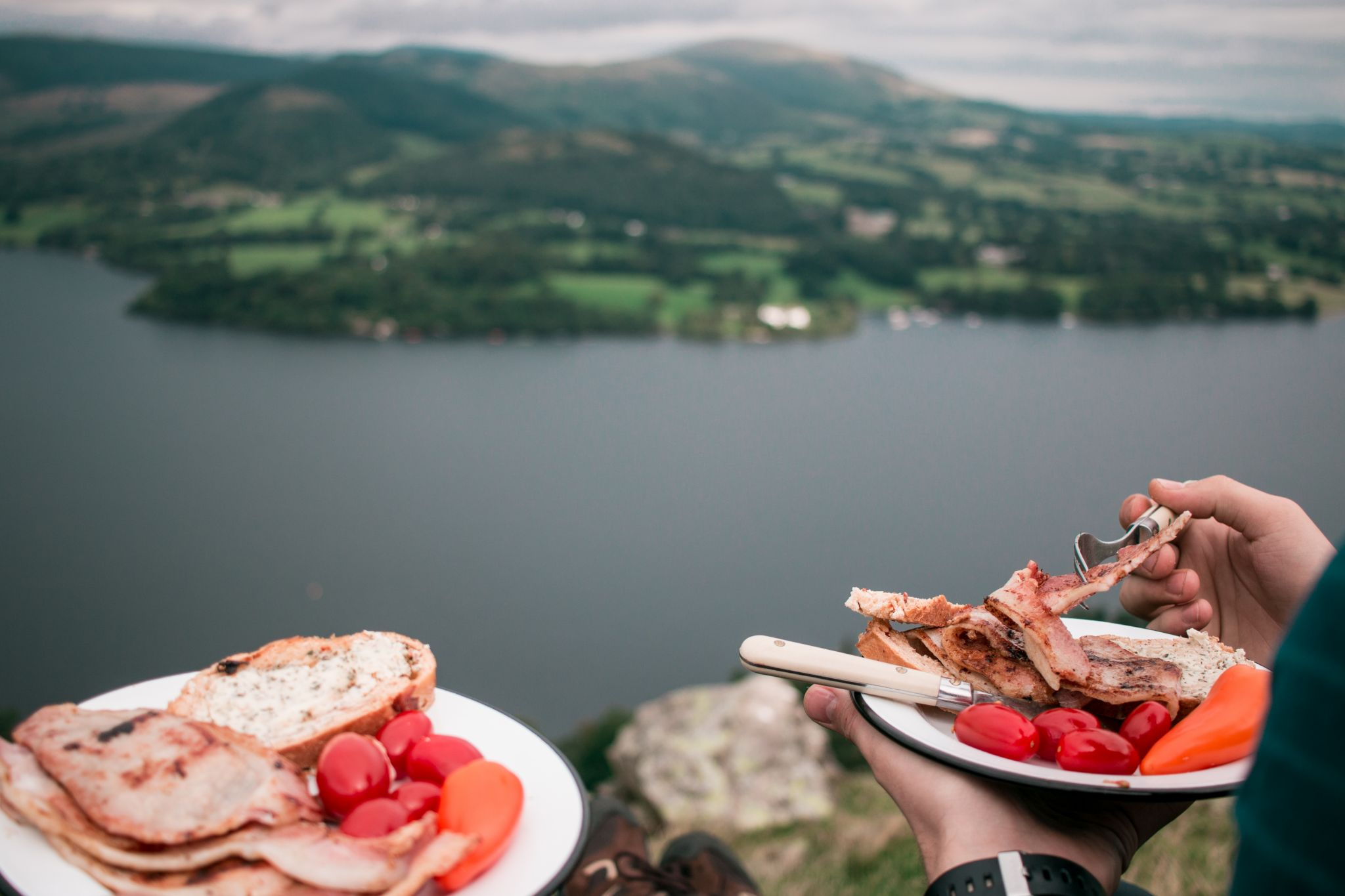 wild-camping-guide-lake-district-breakfast