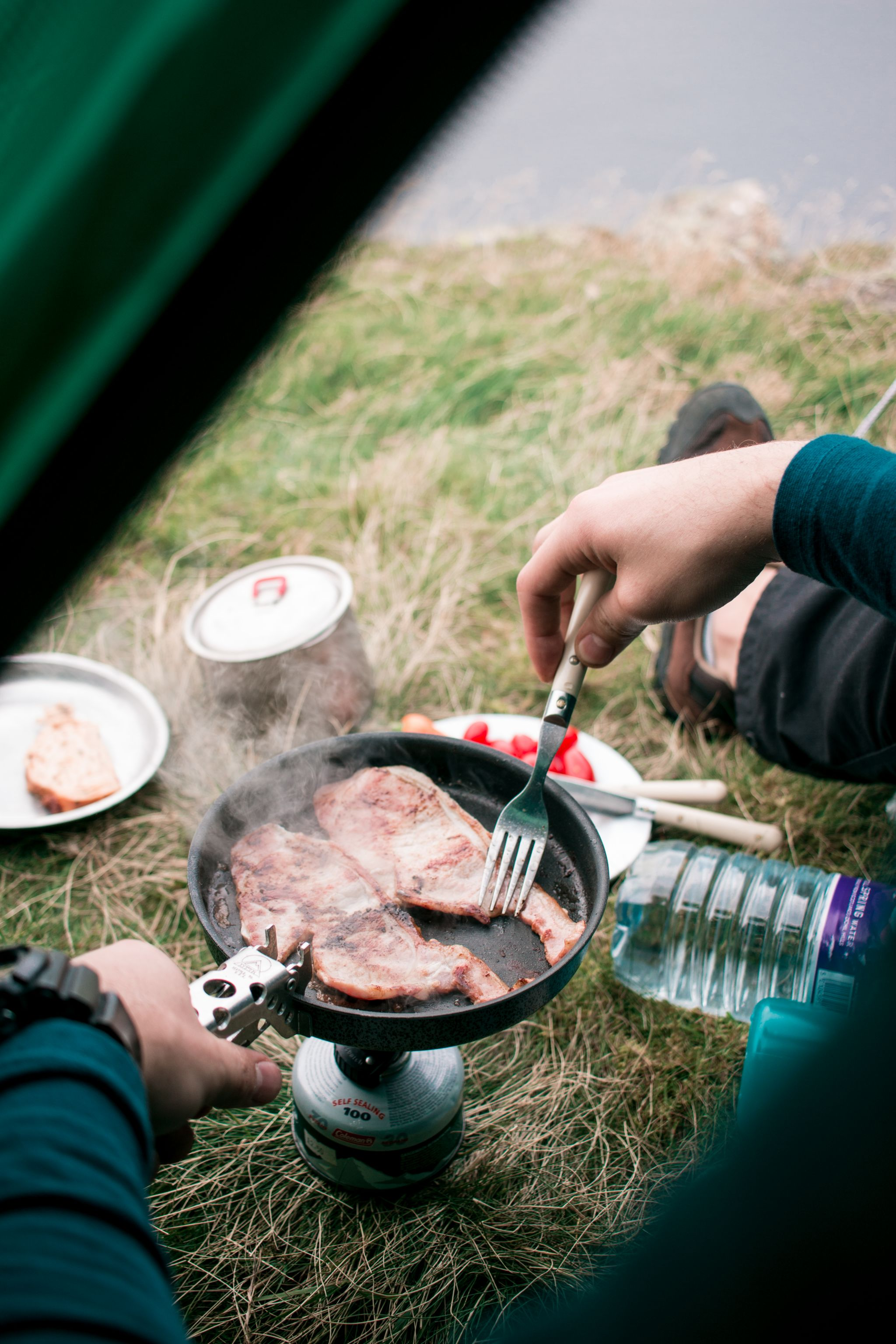 wild-camping-guide-lake-district-camp-breakfast