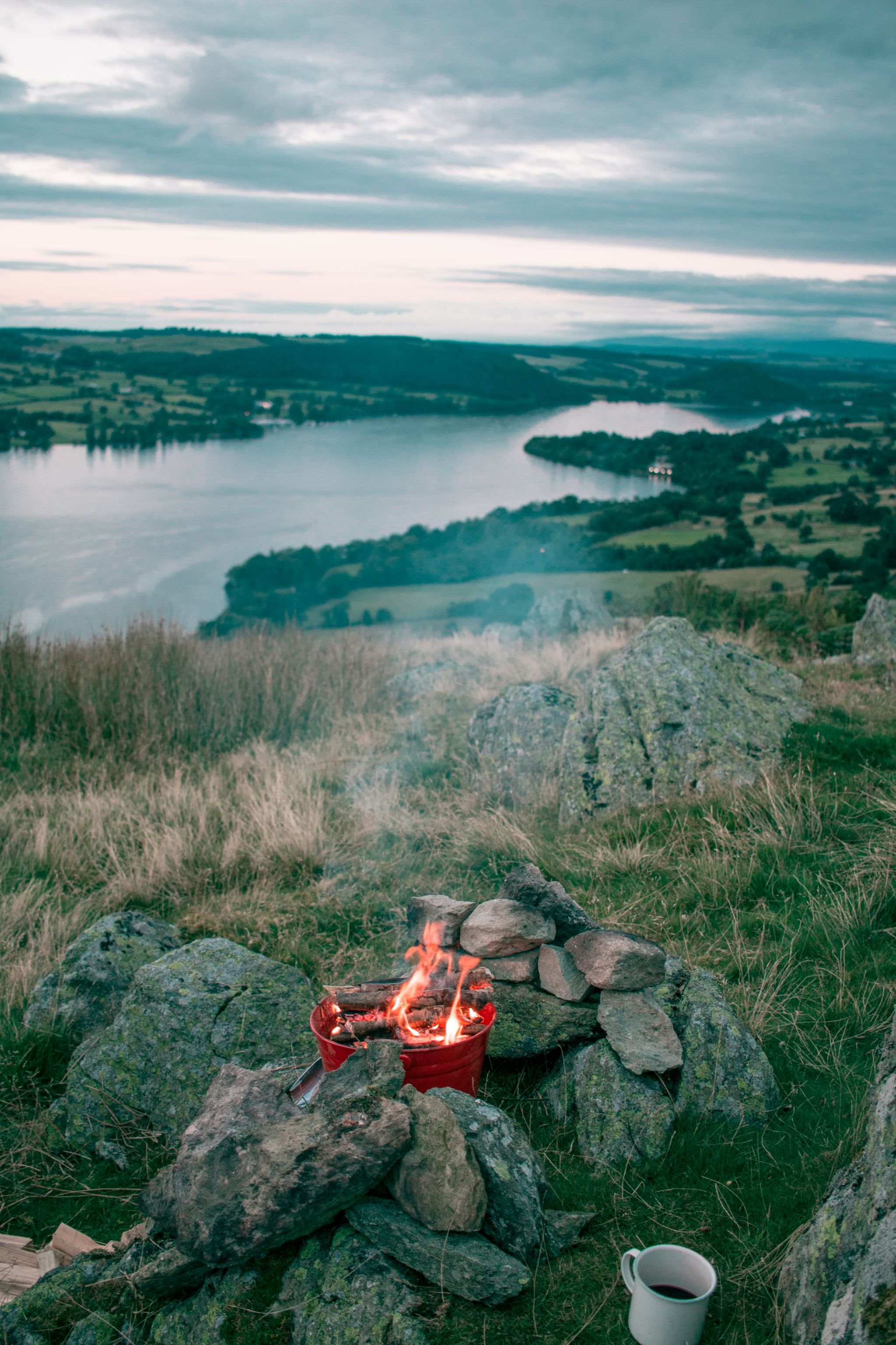 wild-camping-guide-lake-district-fire