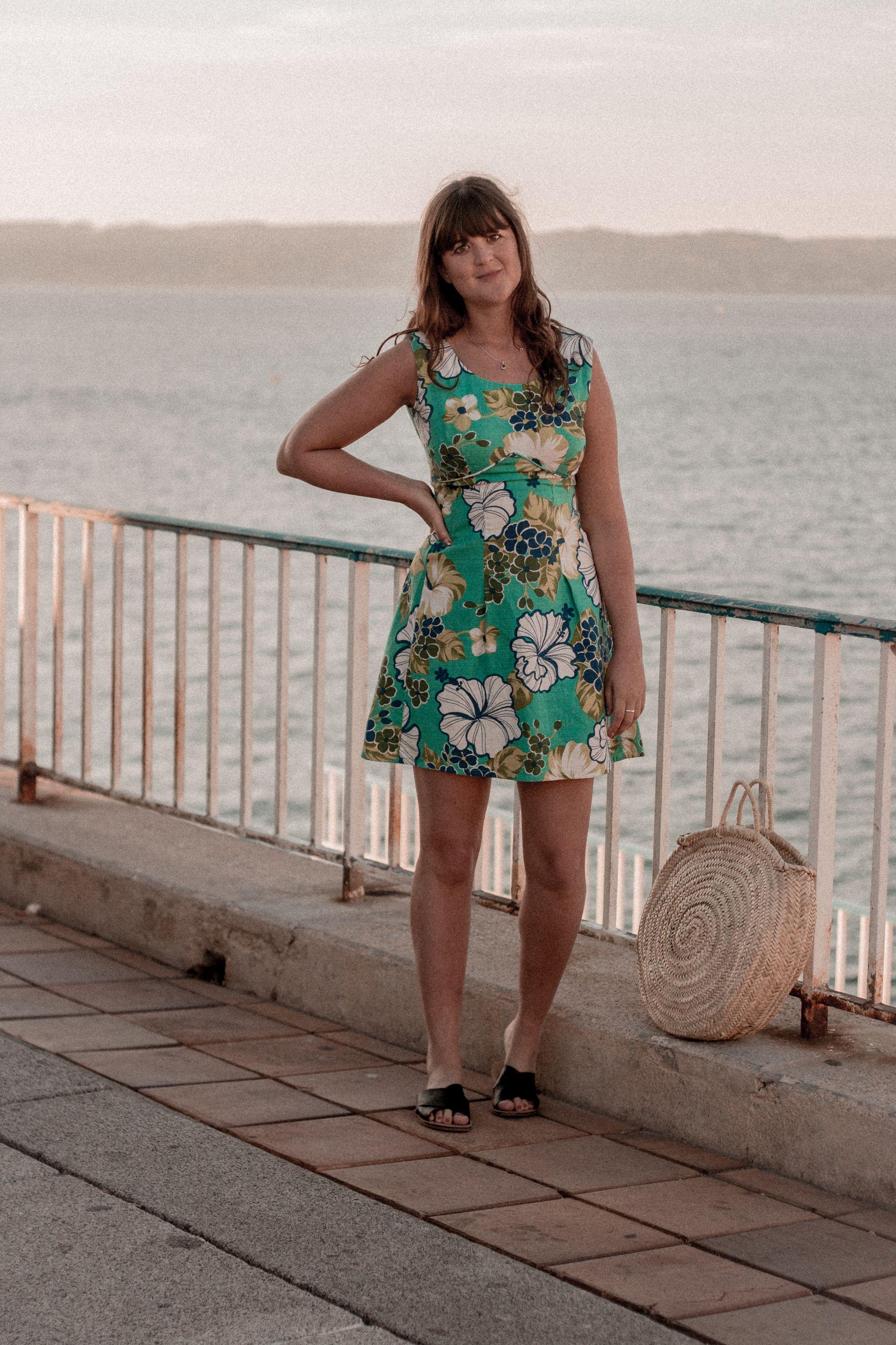 rokit-60s-vintage-floral-dress