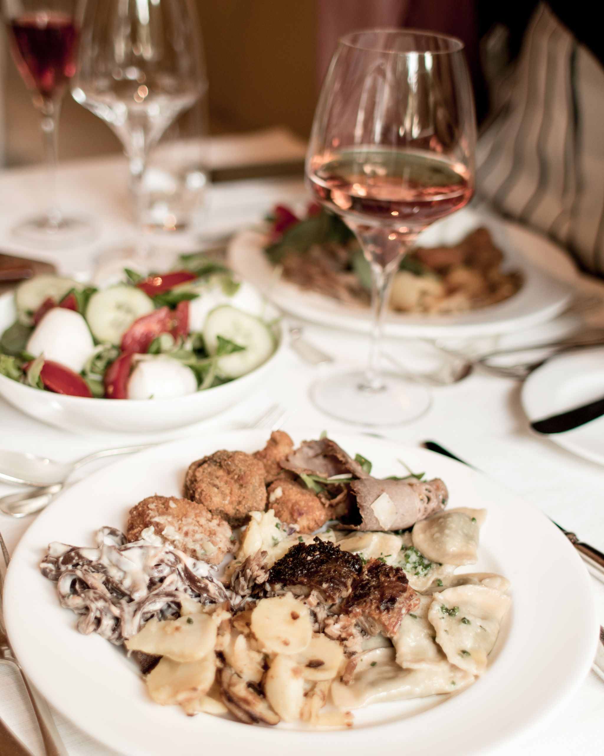 Adler Dolomites Hotel Ortisei Italy Hotel Review Evening Meal Farmers Buffet