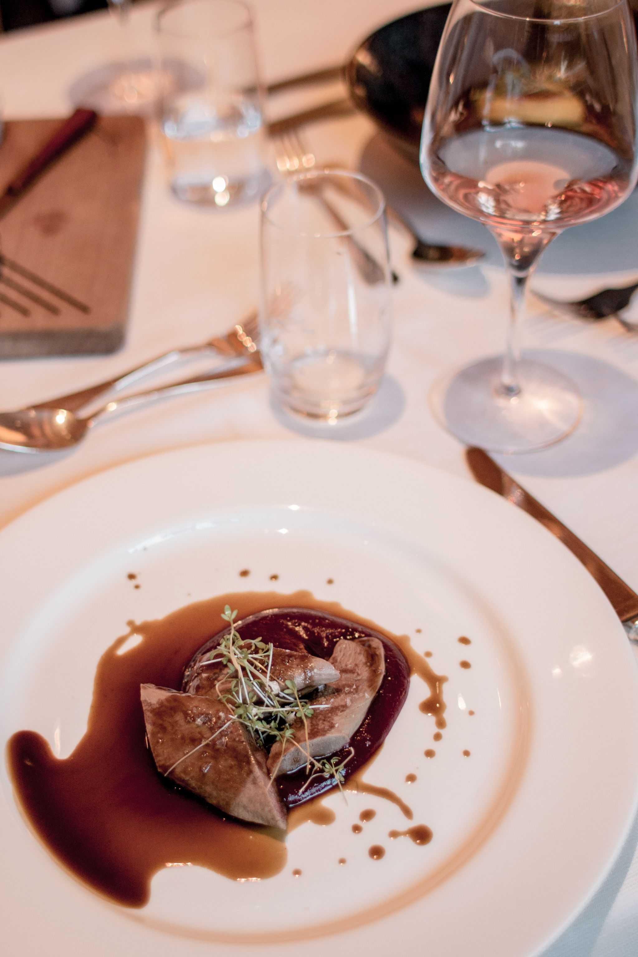 Adler Dolomites Hotel Ortisei Italy Hotel Review Evening Meal Veal