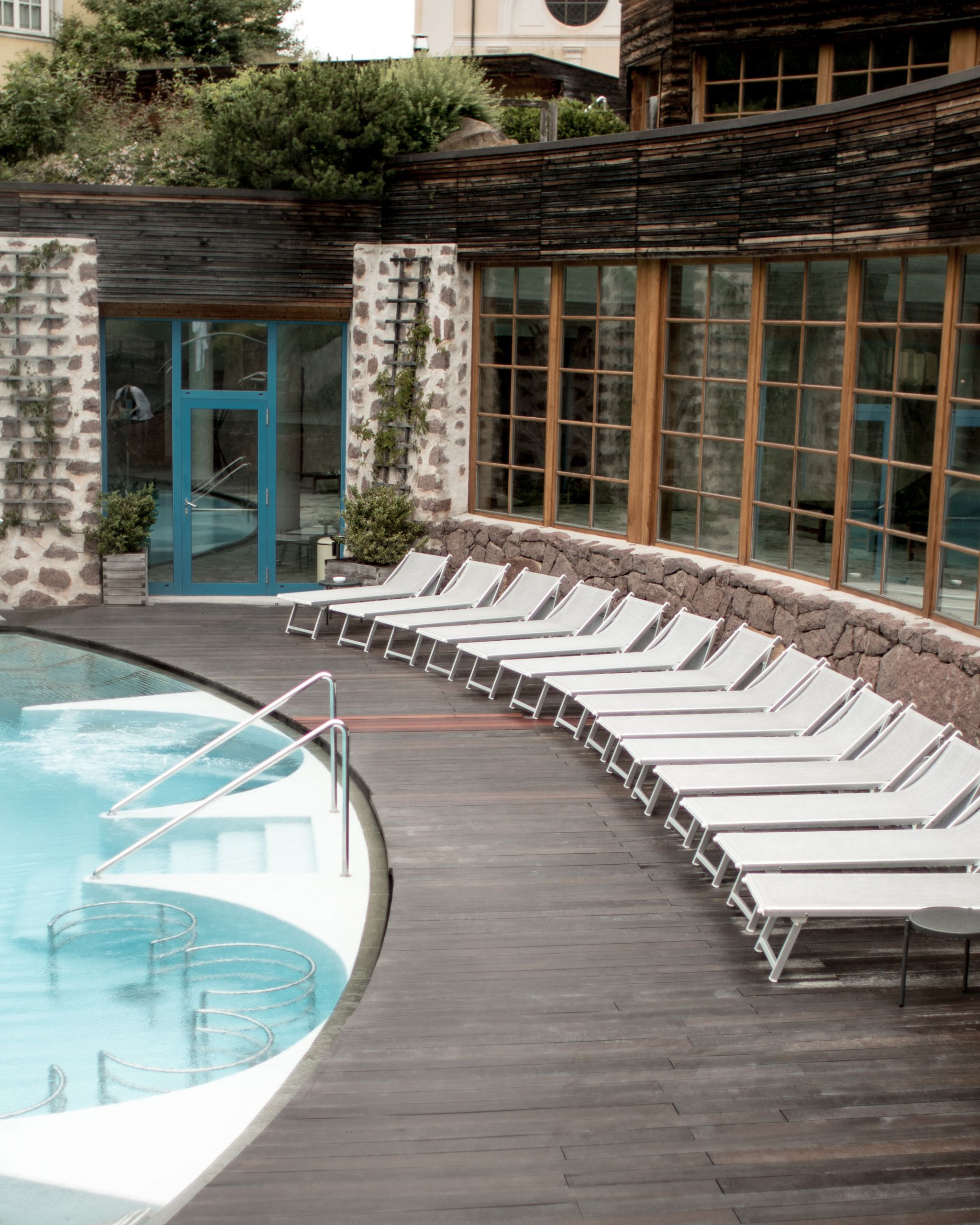 Adler Dolomites Hotel Ortisei Italy Hotel Review Exterior pools