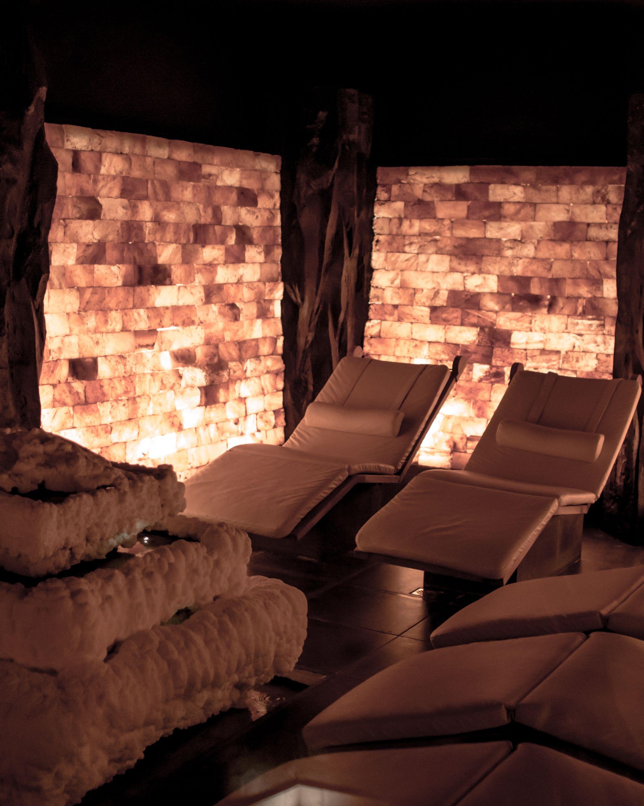 Adler Dolomites Hotel Ortisei Italy Hotel Review Himalayan Salt Sauna