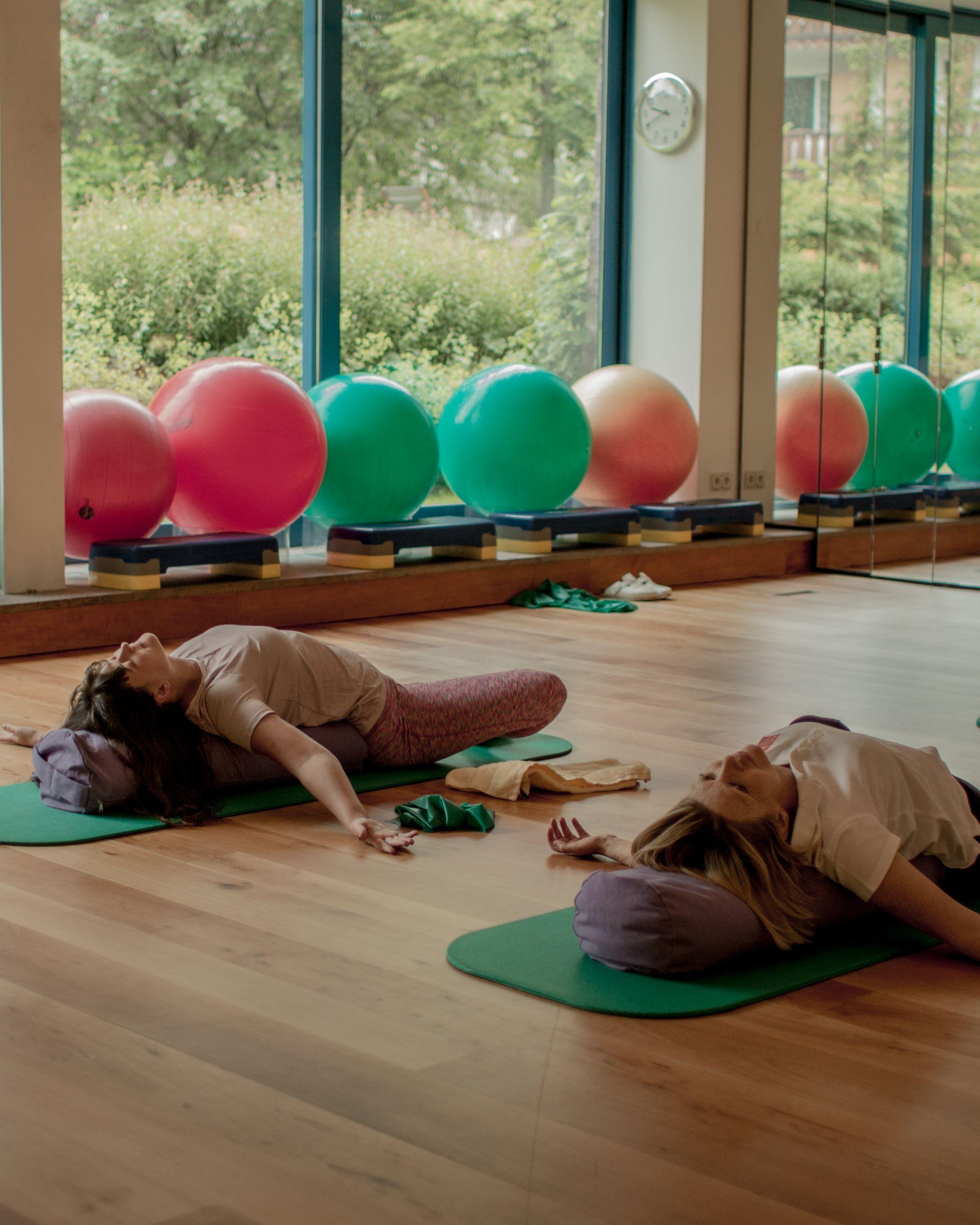 Adler Dolomites Hotel Ortisei Italy Hotel Review Yoga Retreat relaxation