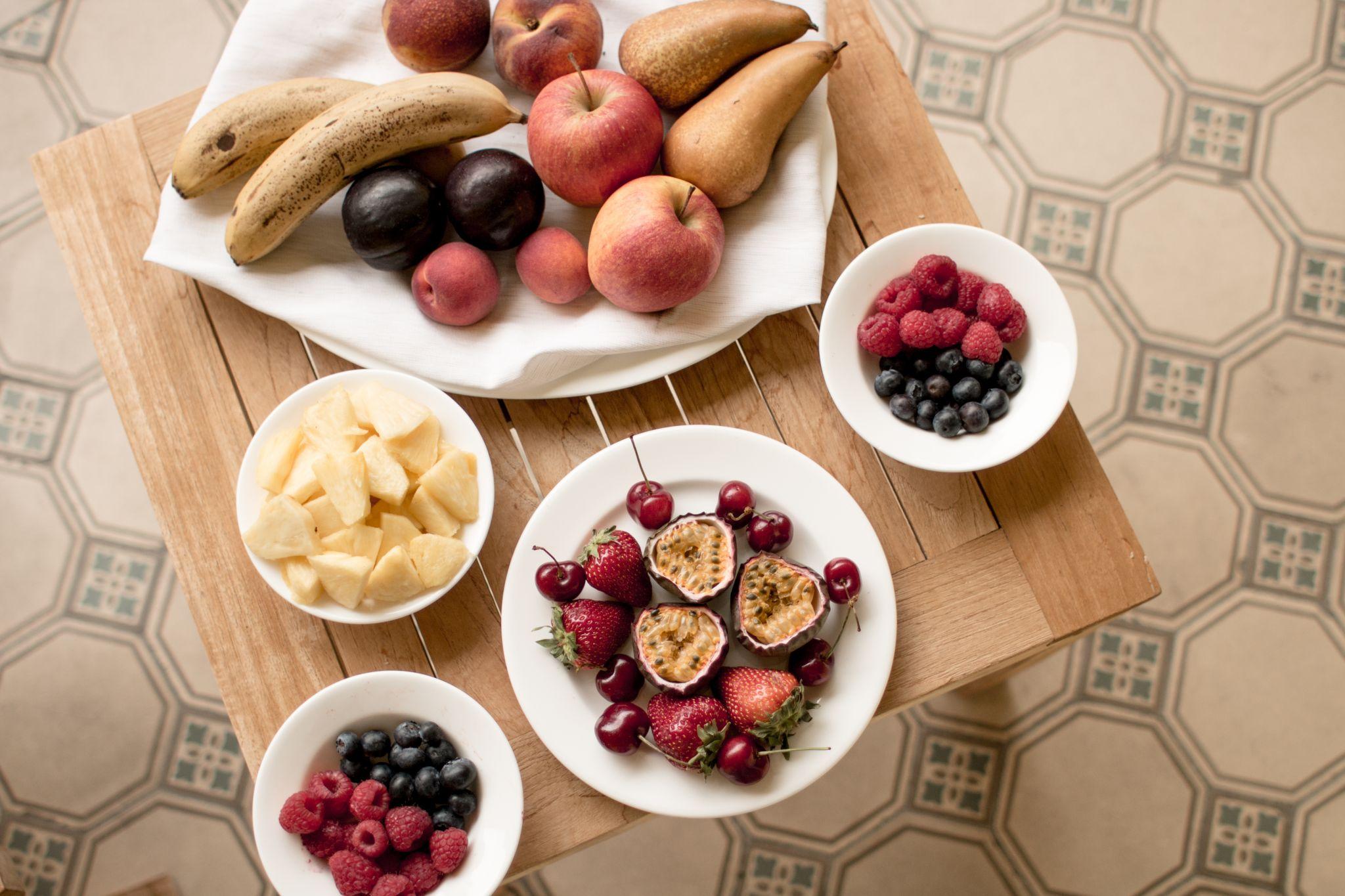 Adler Dolomites Hotel Ortisei Italy Hotel Review fruit for breakfast