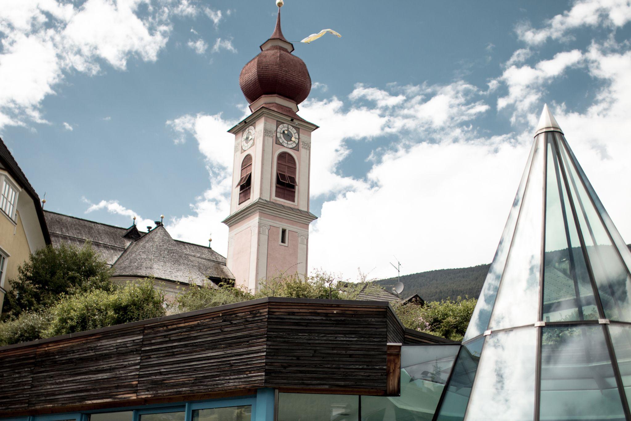 Adler Dolomites Ortisei Italy Hotel Review Exterior Pool
