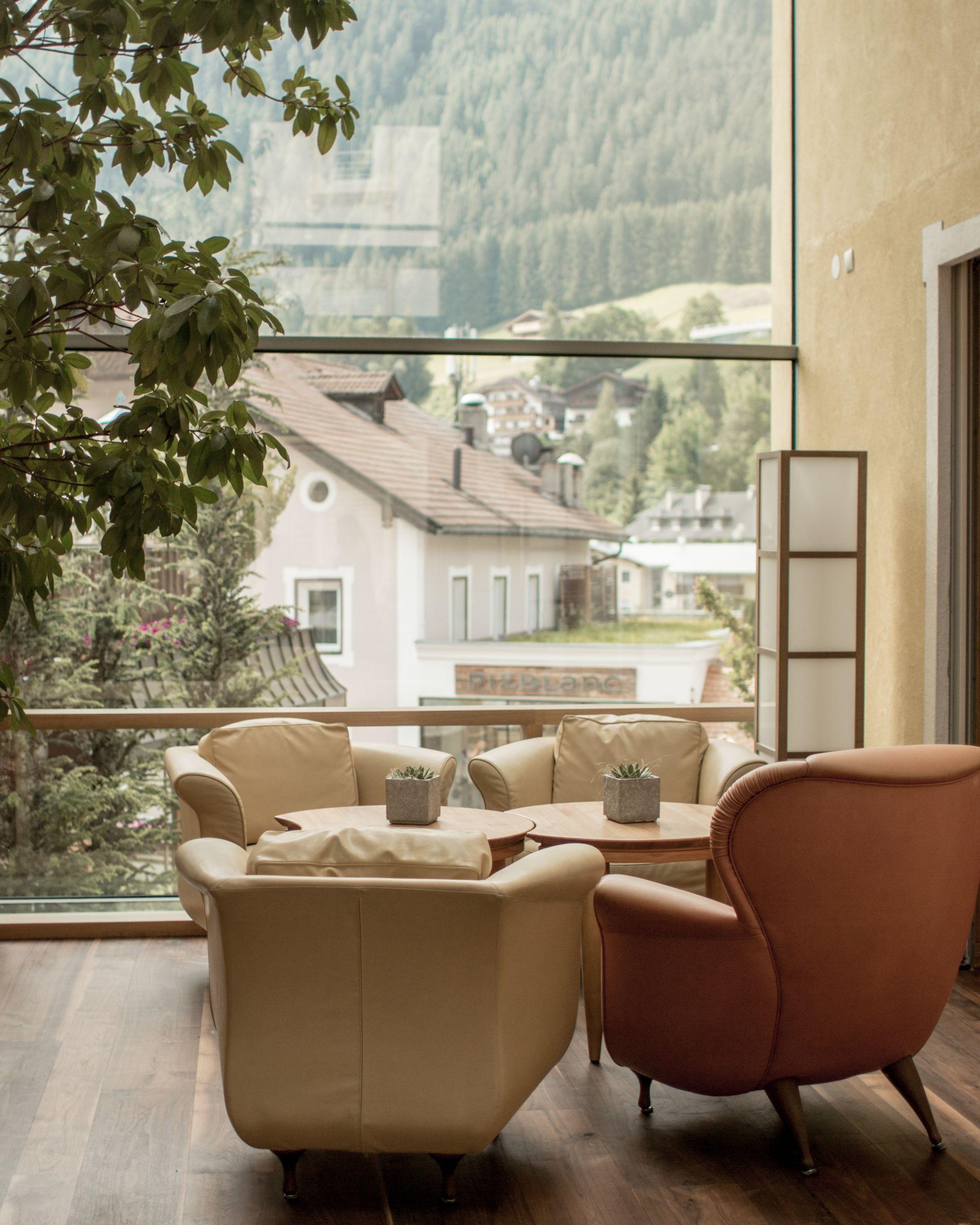 Adler Dolomites Ortisei Italy Hotel Review Foyer Interior