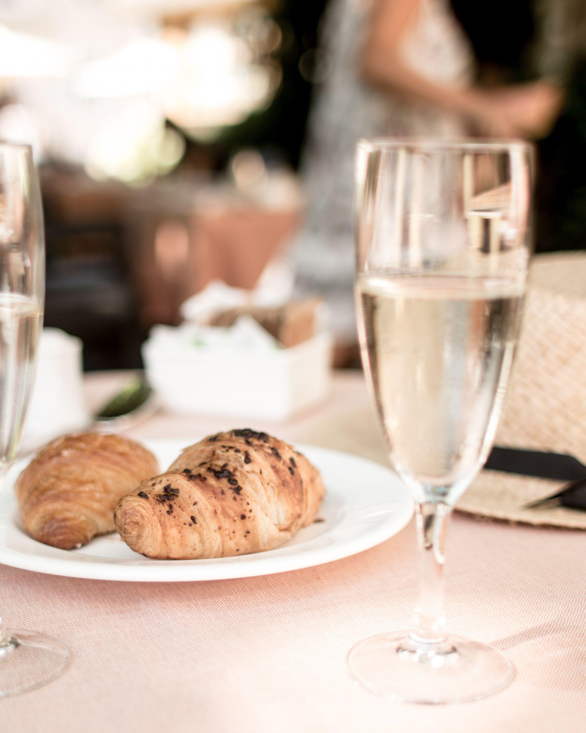 Adler Dolomites Ortisei Italy Review Breakfast Croissant_