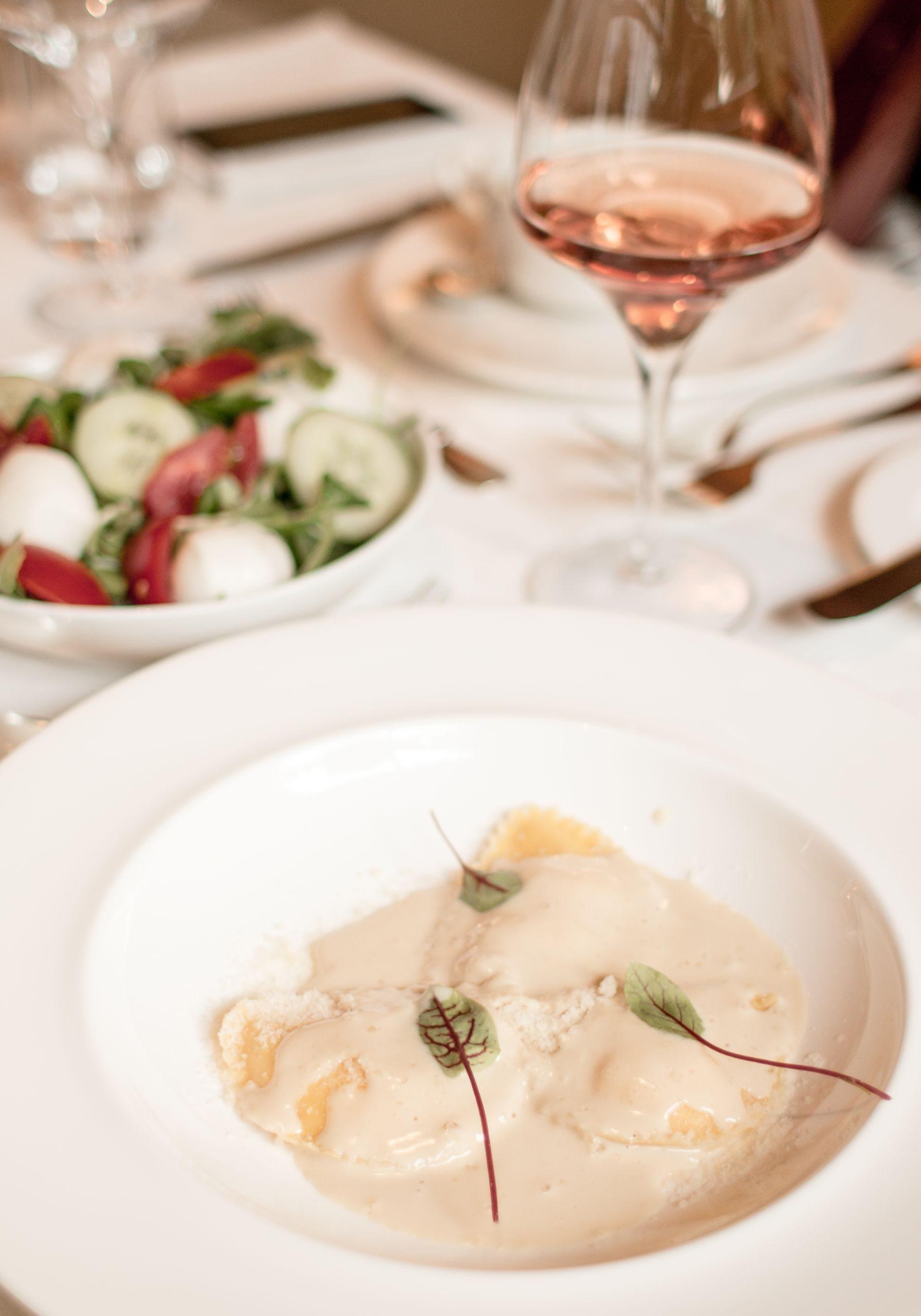 Adler Dolomites Hotel Ortisei Italy Hotel Review Evening Meal Italian pasta