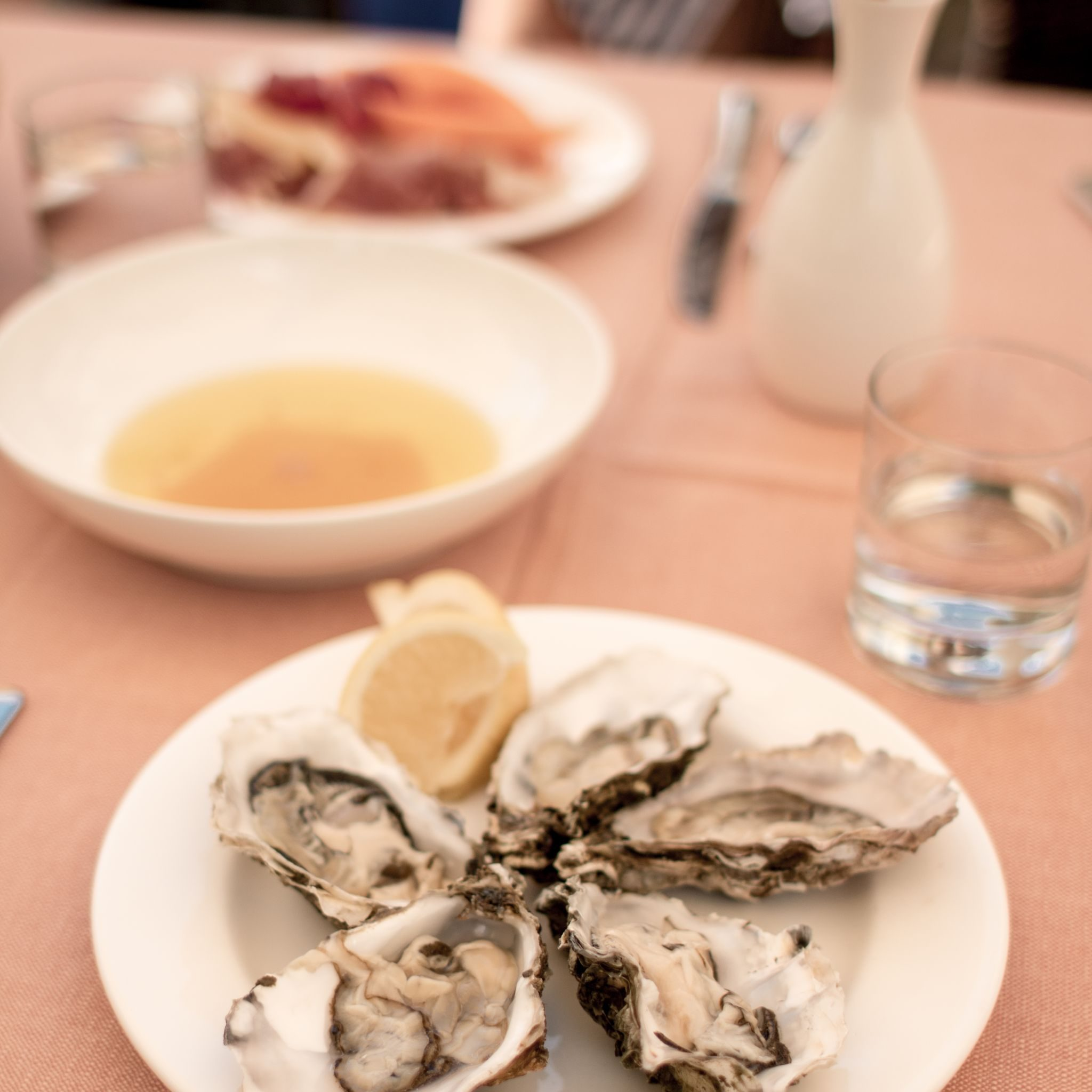 Adler Dolomites Ortisei Italy Hotel Review Oyster Afternoon Nibbles Buffet Food