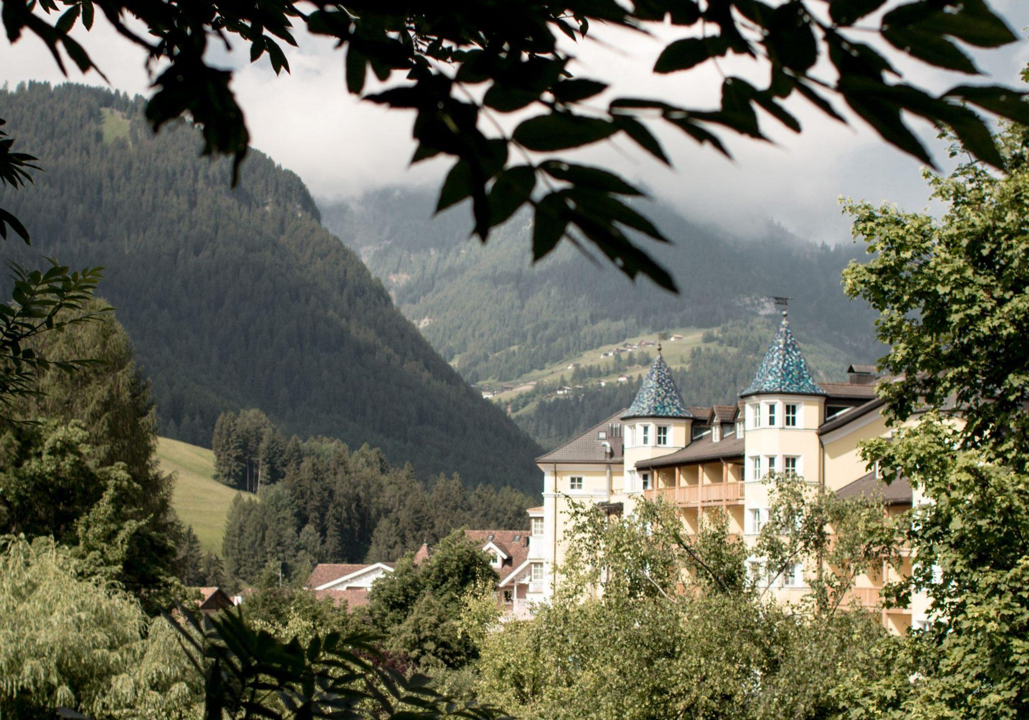 Adler Dolomites Ortisei Italy Hotel Review Sunny Exterior Hotel