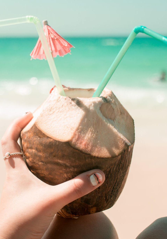 Cartagena Travel Guide Colombia Playa Blanca coconut
